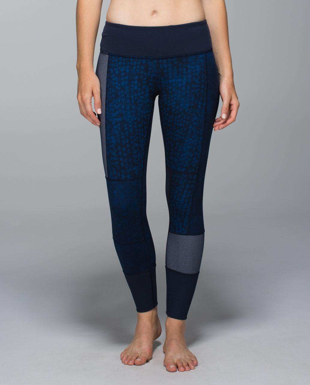 Lululemon Wunder Under Pant *Full-On Luon (Sashiko) - Kanoko Twist Inkwell Rugged Blue / Inkwell / Sashico Star Inkwell Rugged Blue