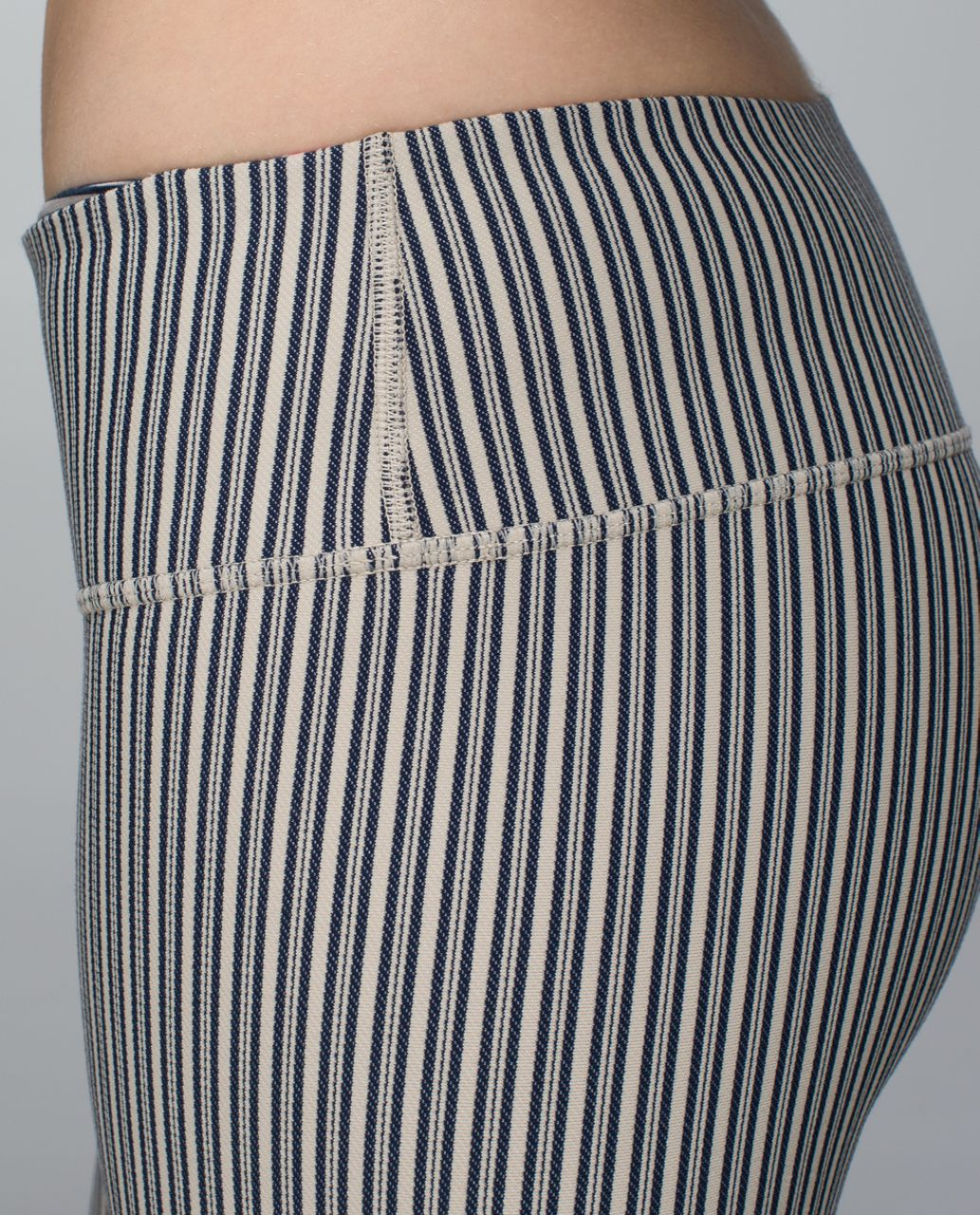 Lululemon Wunder Under Pant (Print) - Pine Stripe Inkwell Mojave Tan / White / Inky Floral Ghost Inkwell Bumble Berry
