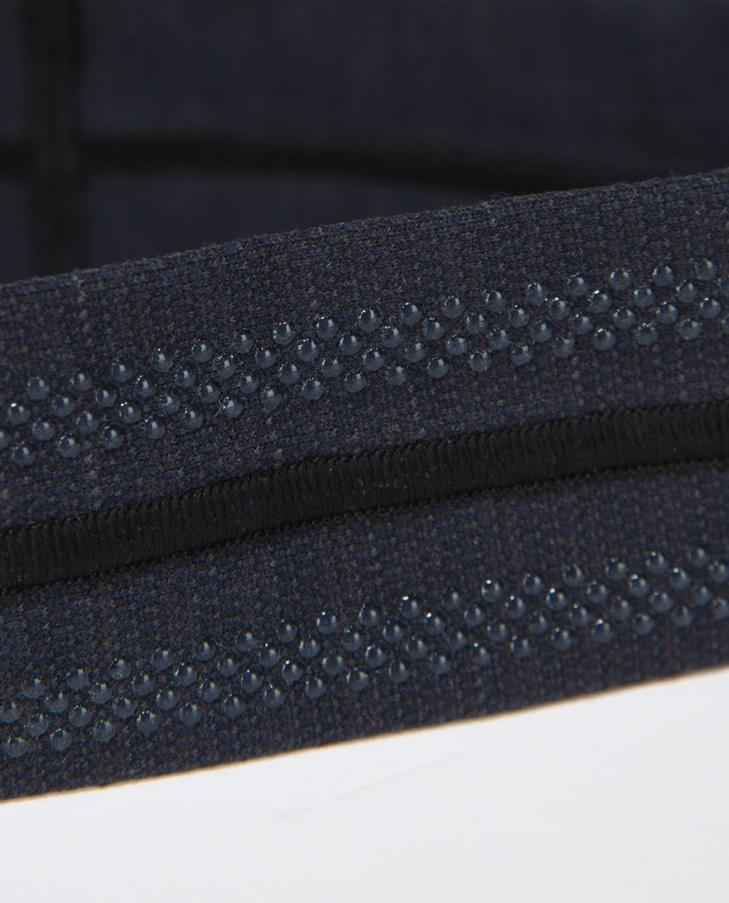 Lululemon Fly Away Tamer Headband - Luon Pique Inkwell Black