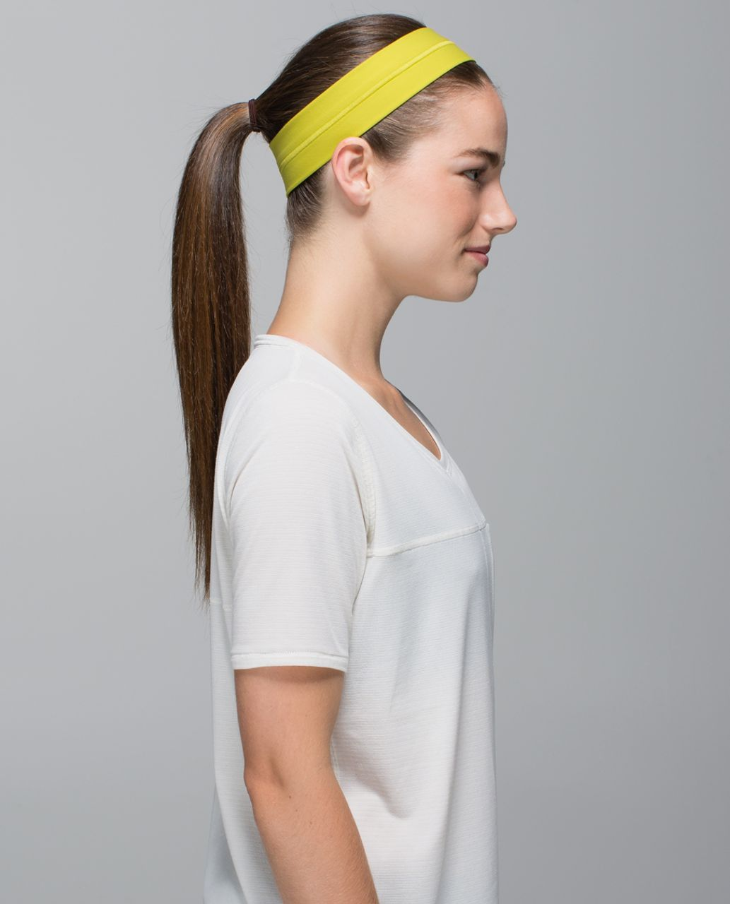 Lululemon Fly Away Tamer Headband - Almost Pear