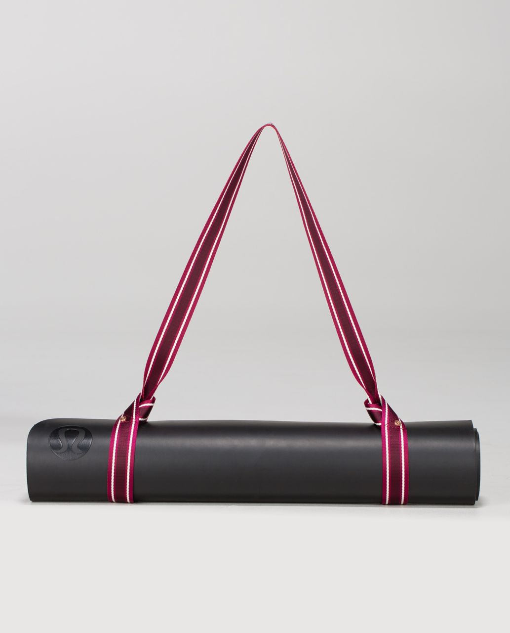 Lululemon Loop It Up Mat Strap - Bumble Berry / Ghost / Bordeaux Drama