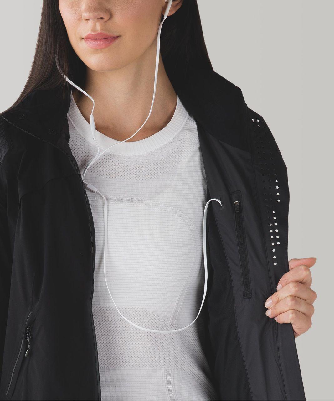 Lululemon Rain Runner Jacket - Black