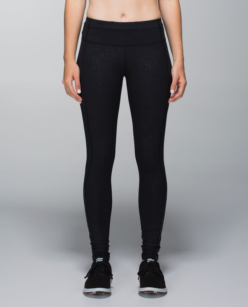 Lululemon Speed Tight II *Graphic - Petal Camo Embossed Black / Black