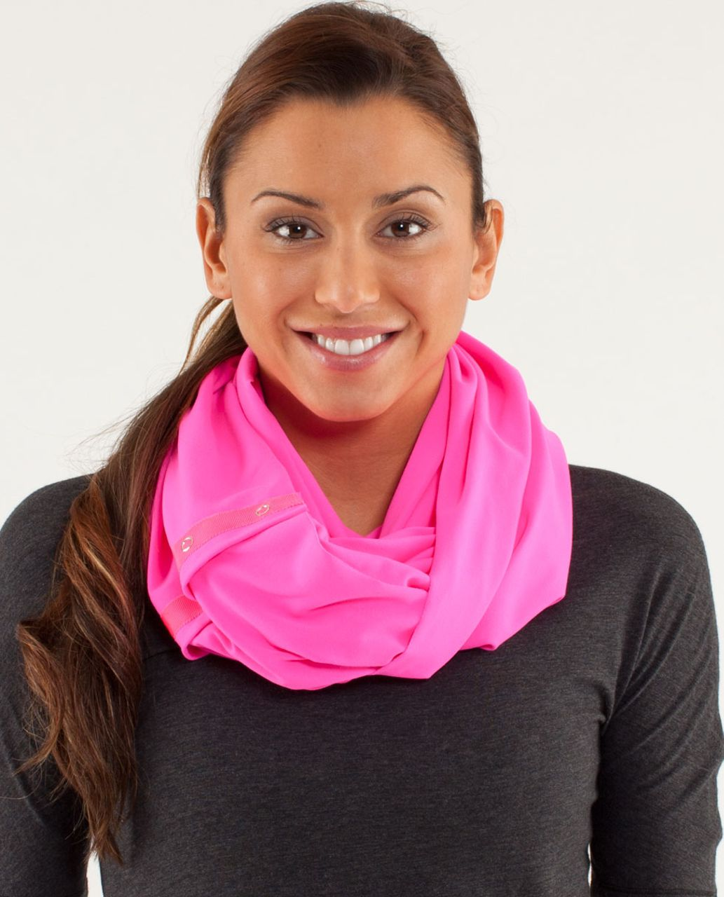 Lululemon Vinyasa Scarf *Luon Light - Raspberry Glo Light