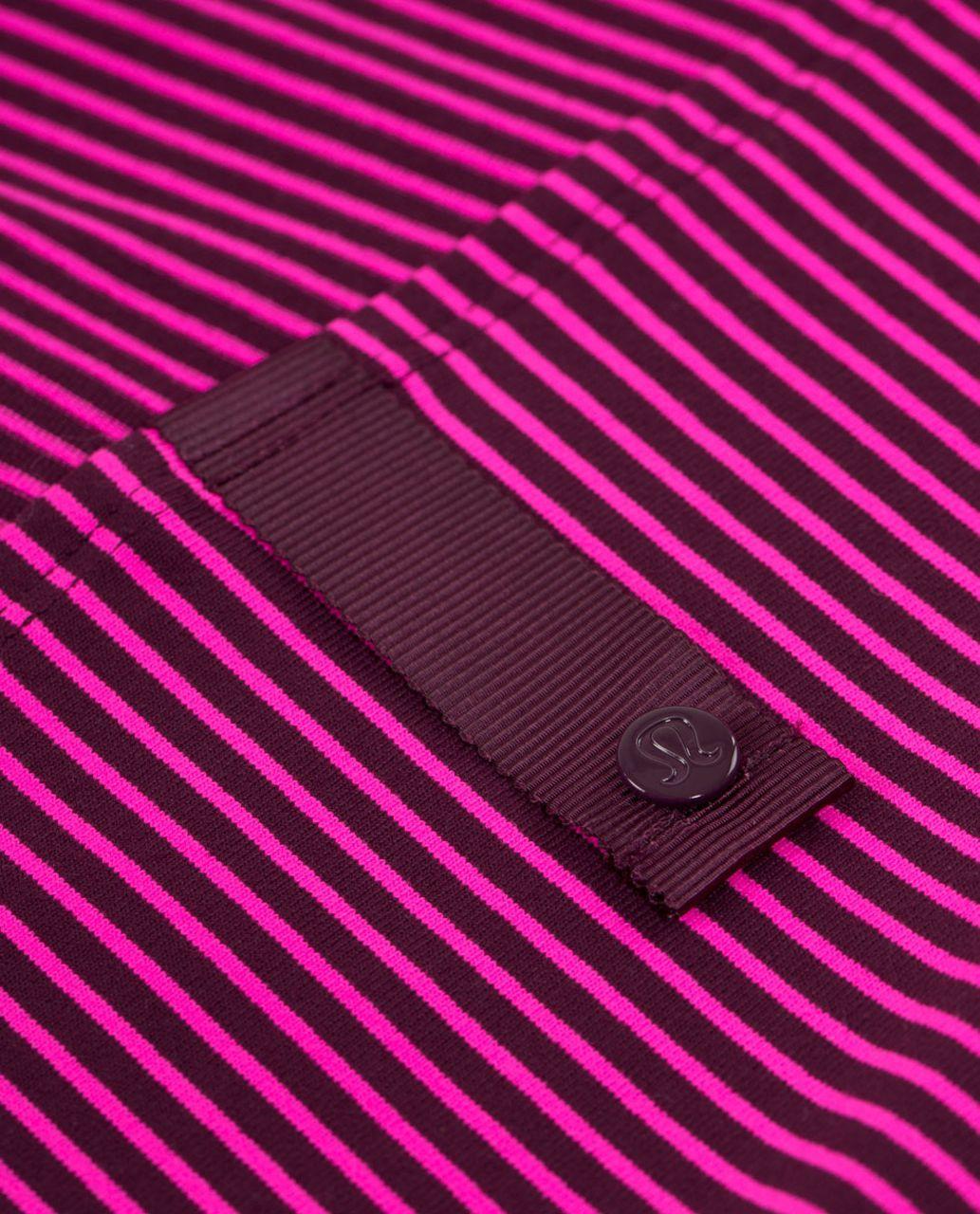 Lululemon Vinyasa Scarf *Luon Light - Hyper Stripe Raspberry Glo Light