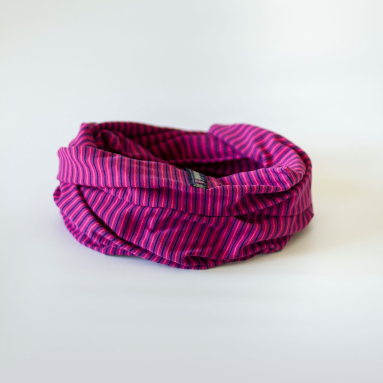 Lululemon Vinyasa Scarf *Rulu - Rizzy Stripe Regal Plum Hero Blue / Hero Blue
