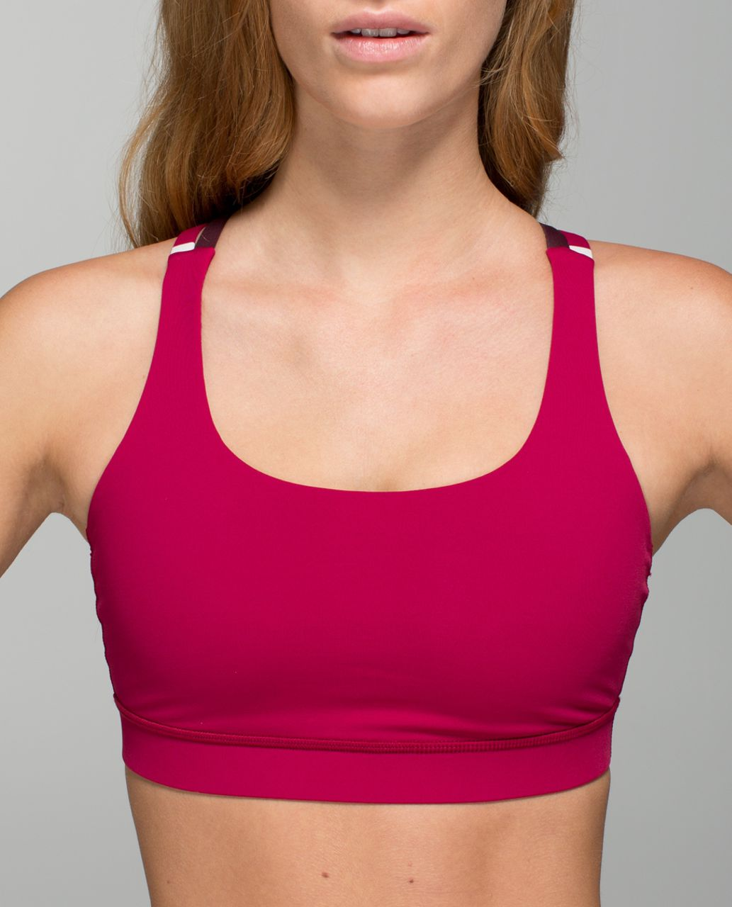 Lululemon Energy Bra - Bumble Berry / Bordeaux Drama / Blossom Stripe Bumble Berry Ghost