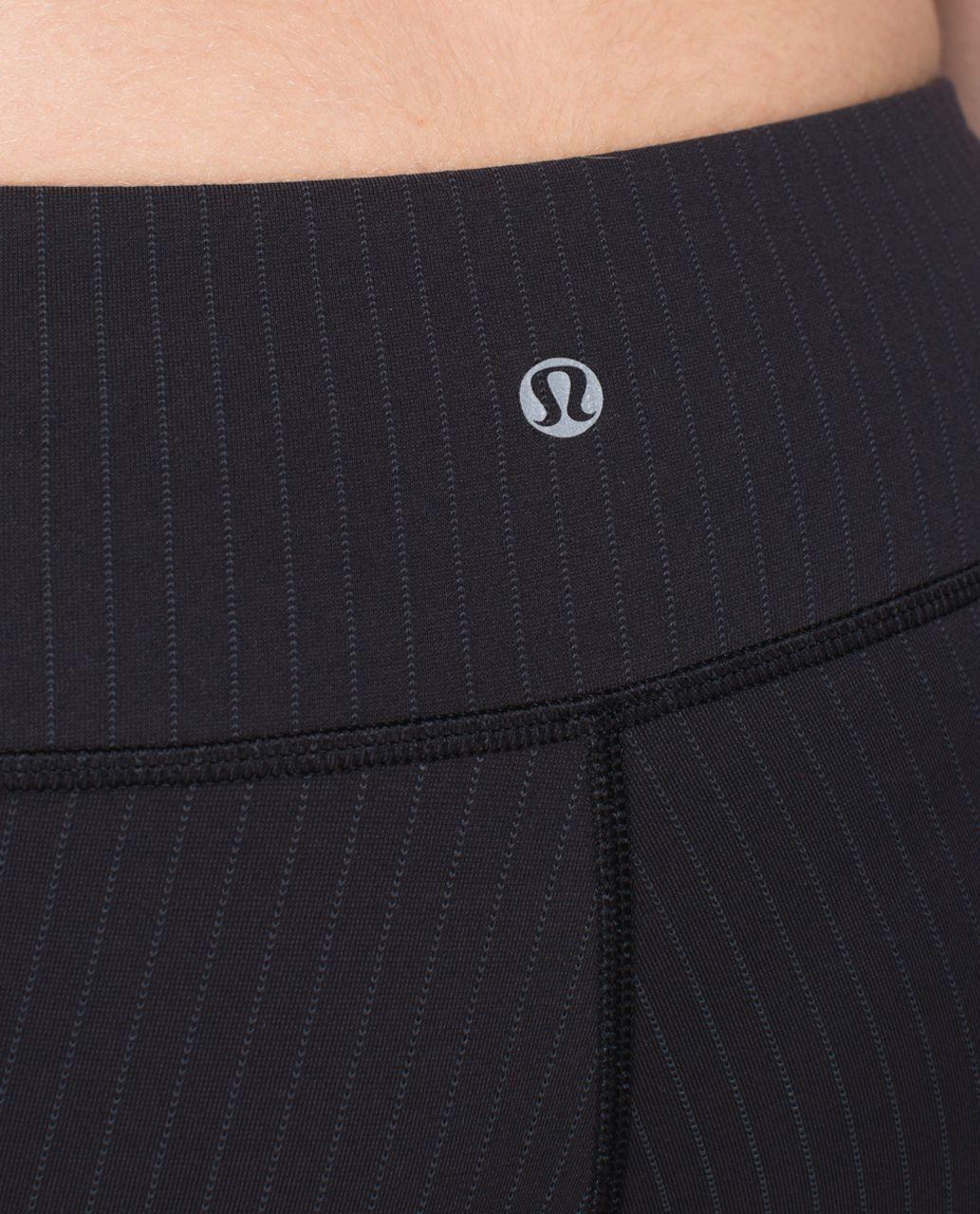 Lululemon Wunder Under Pant *Full-On Luon (Print) - Conductor Stripe Black Deep Coal