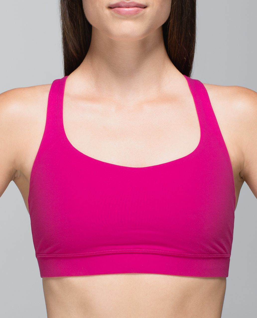 Lululemon 50 Rep Bra - Jewelled Magenta