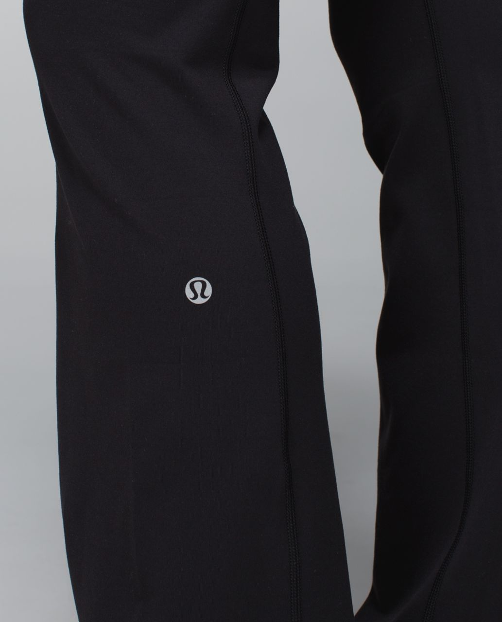 Lululemon Groove Pant *Full-On Luon (Regular) - Black / Fa14 Quilt 5