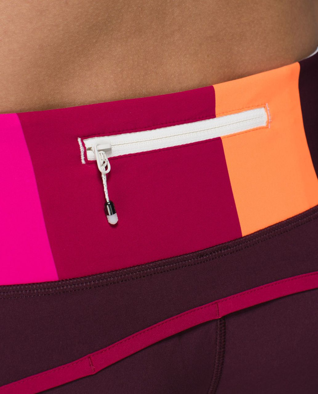 Lululemon Run Times Short *4-way Stretch - Bordeaux Drama / Bumble Berry / Blossom Stripe Bumble Berry Ghost