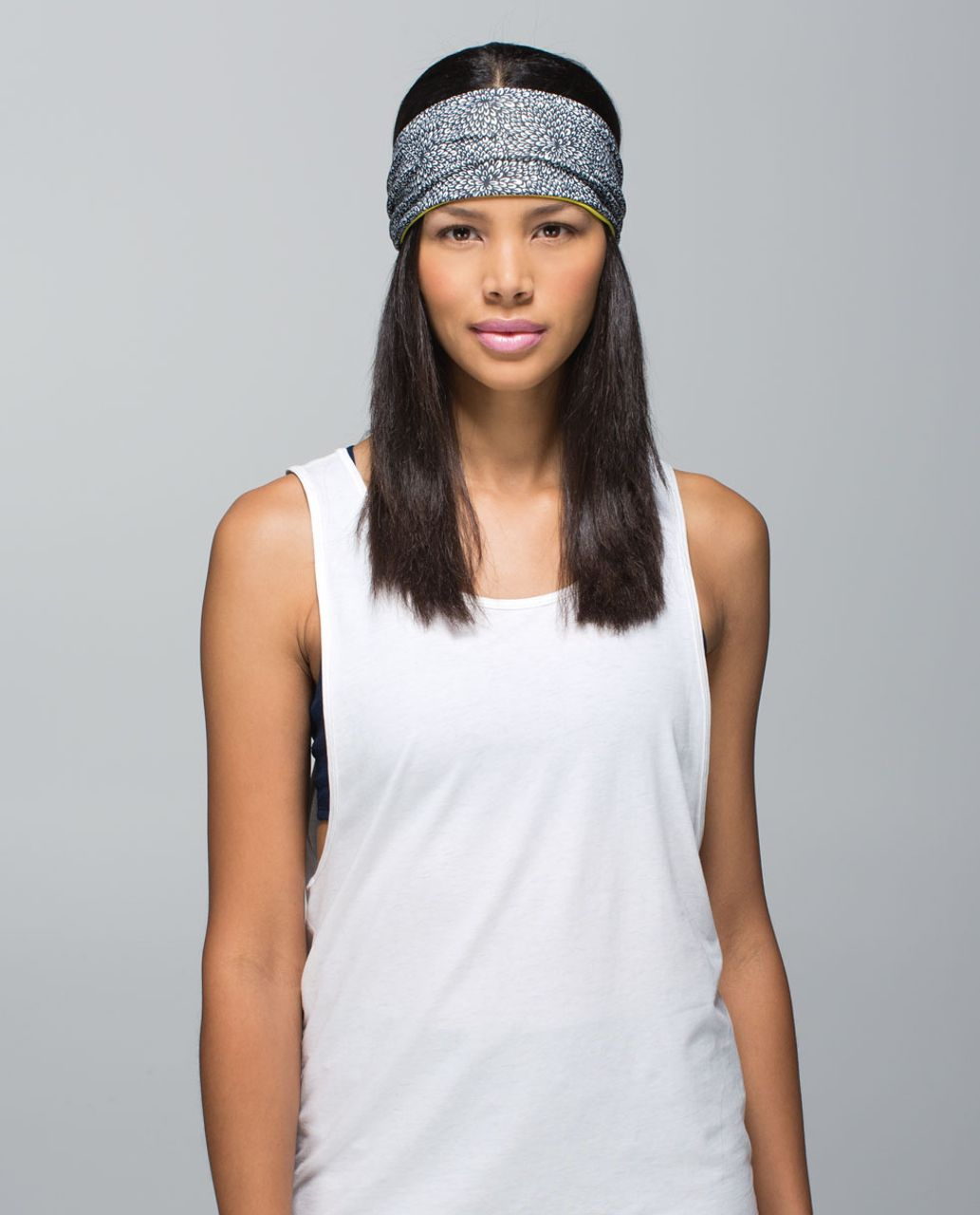 f6e7477c2f Lululemon Bang Buster Headband *Reversible - Plush Petal Black Ghost /  Almost Pear - lulu fanatics