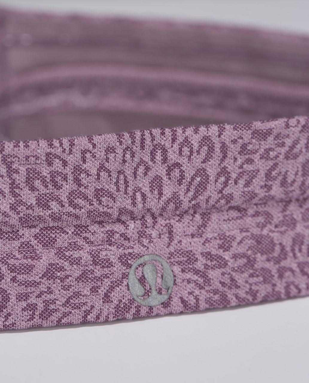 Lululemon Swiftly Headband - Heathered Purple Fog