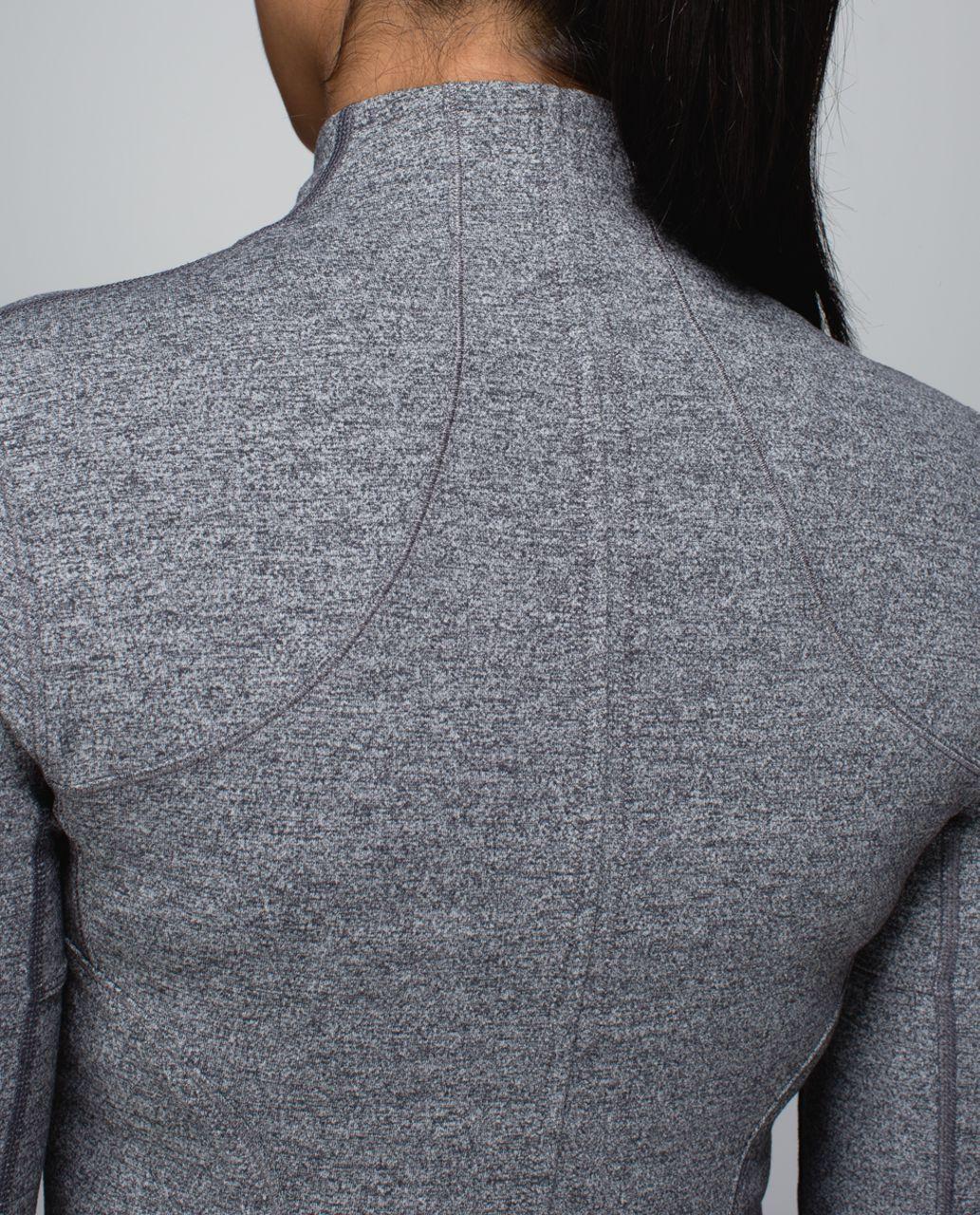 Lululemon Forme Jacket (Cuffins) - Heathered Deep Coal