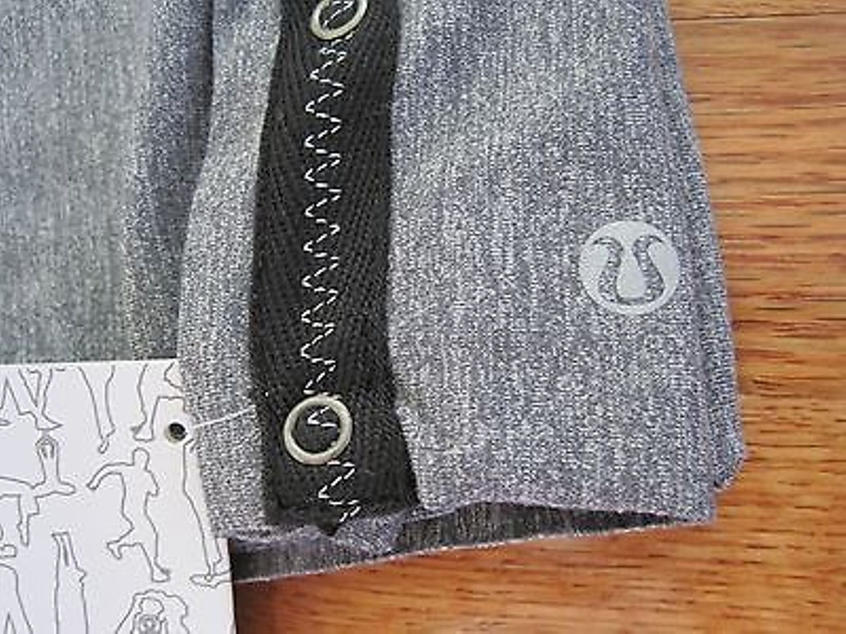 Lululemon Vinyasa Scarf - Static Coal (First Release)