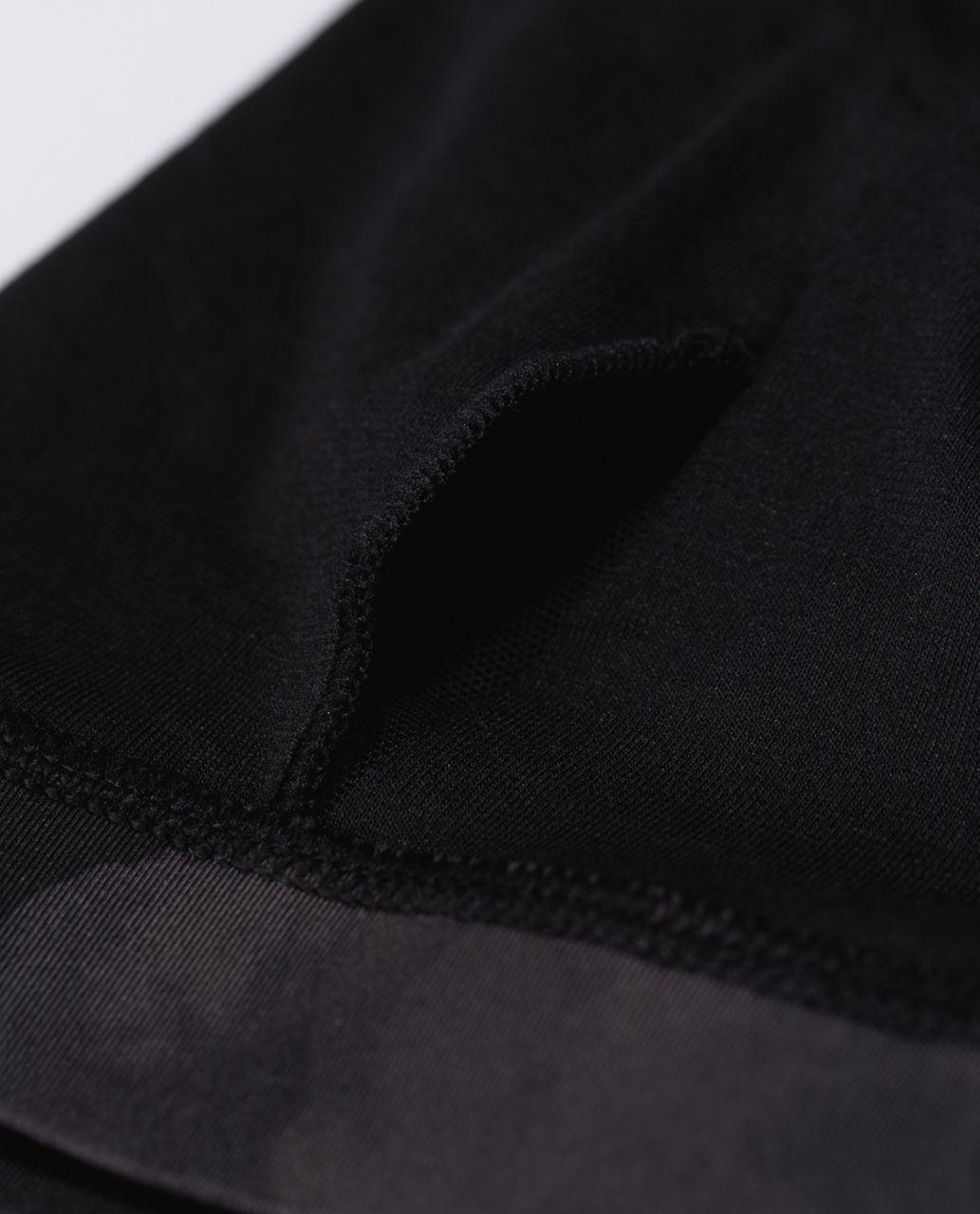 Lululemon Energy Bra - Inky Floral Soot Black / Black