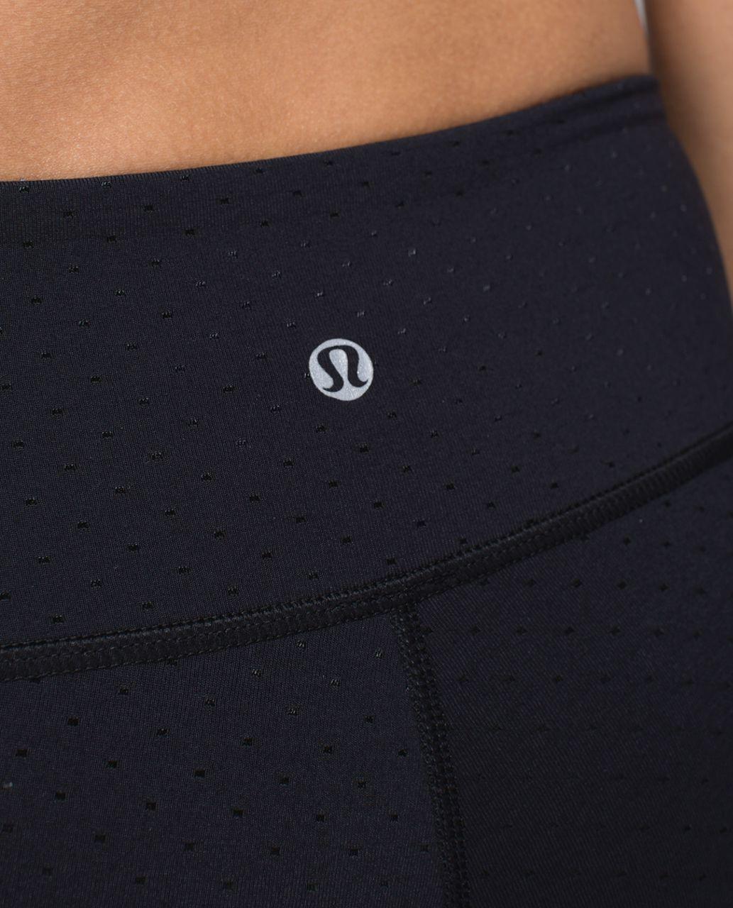 Lululemon Wunder Under Pant *Full-On Luon (Print) - Shine Dot Black