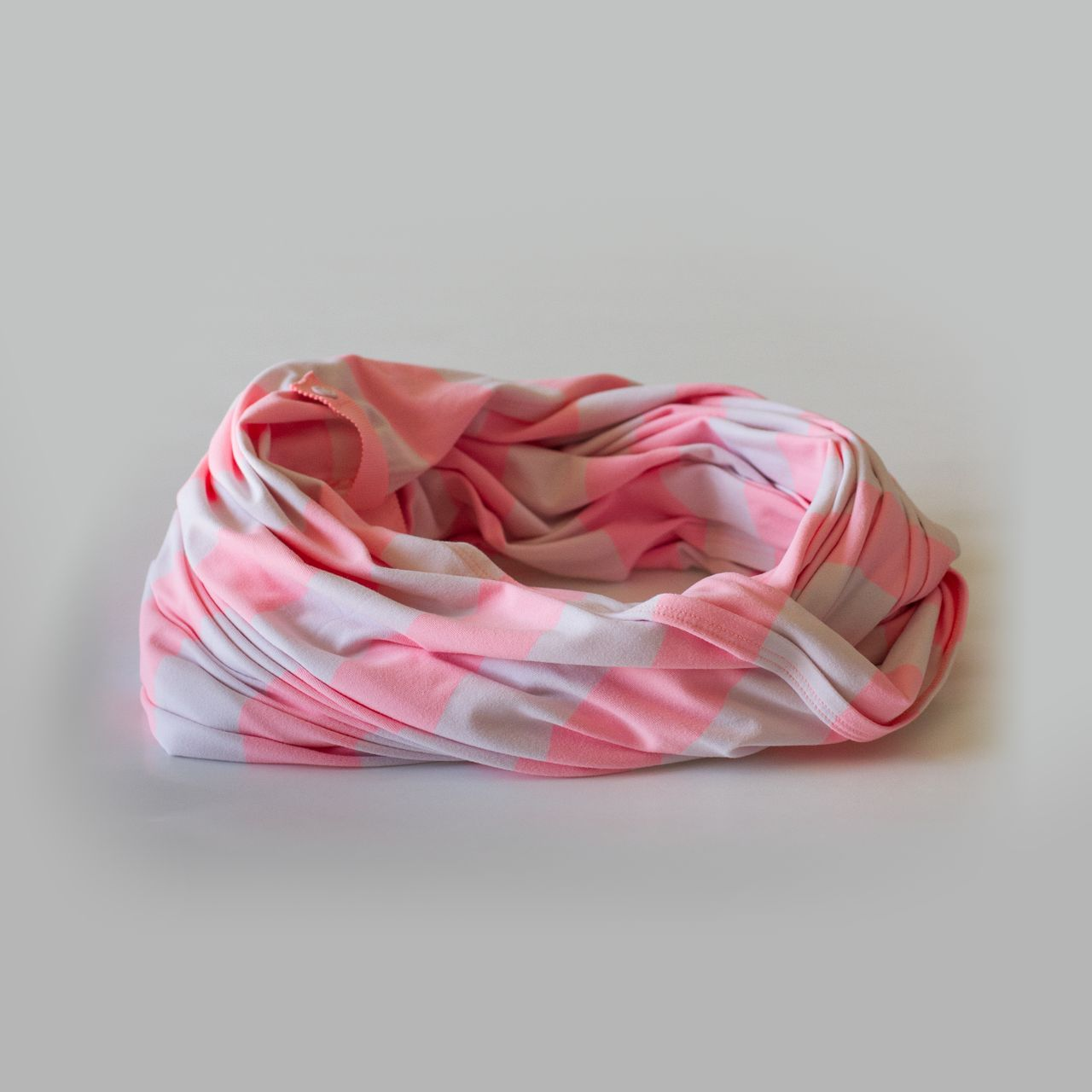Lululemon Vinyasa Scarf - Steep Stripe Angel Wing Bleached Coral