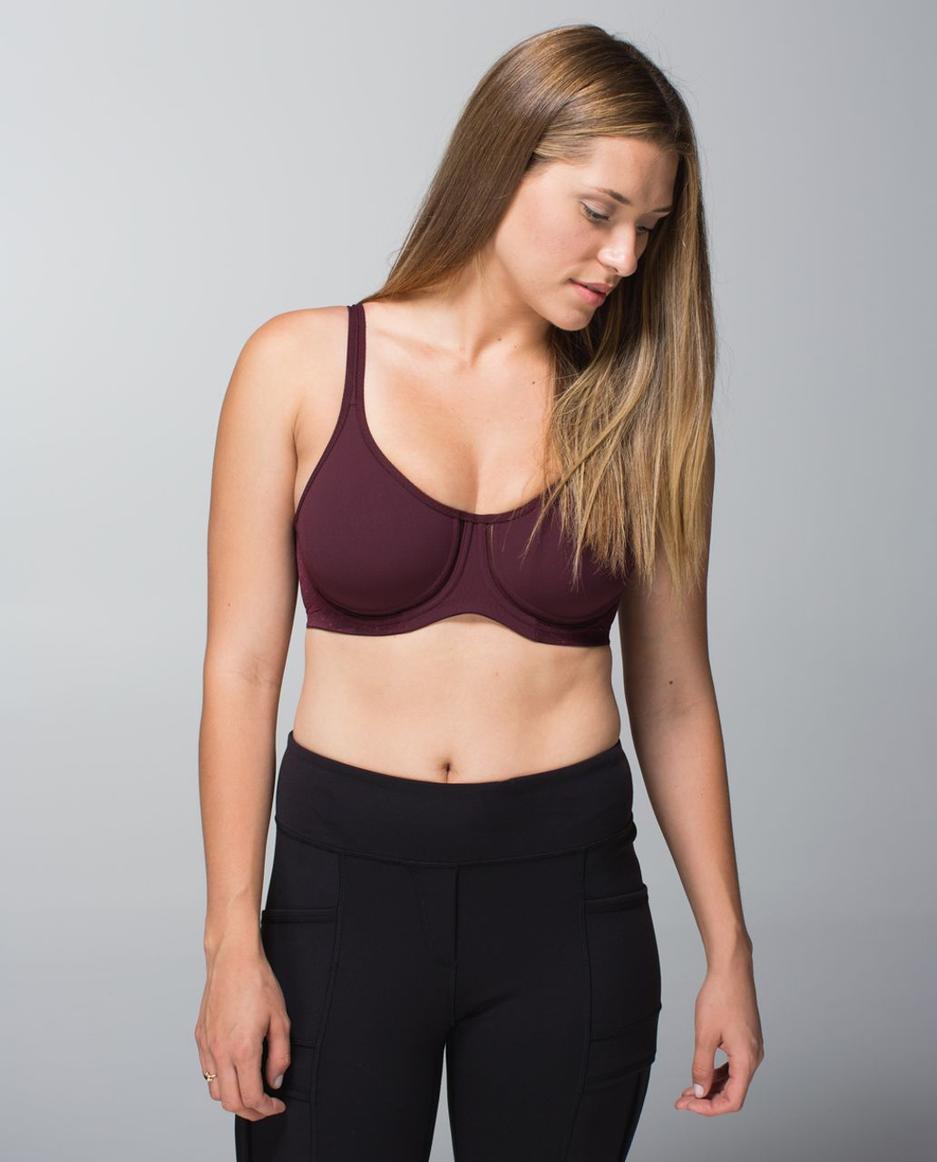 Lululemon Boob Wired Bra - Bordeaux Drama