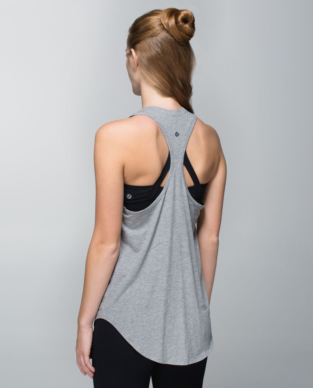Lululemon Yogi Racerback - Heathered Medium Grey