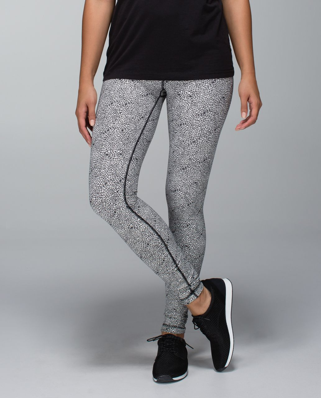 Lululemon Wunder Under Pant - Plush Petal Deep Coal Ghost