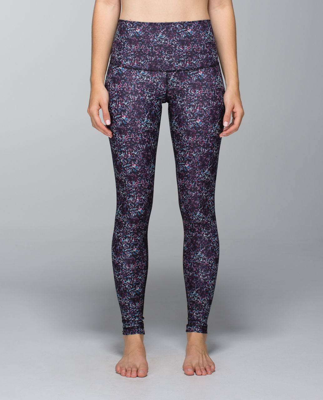 Lululemon Wunder Under Pant *Full-On Luxtreme (Roll Down) - Rocky Road Gusto Blue Bumble Berry