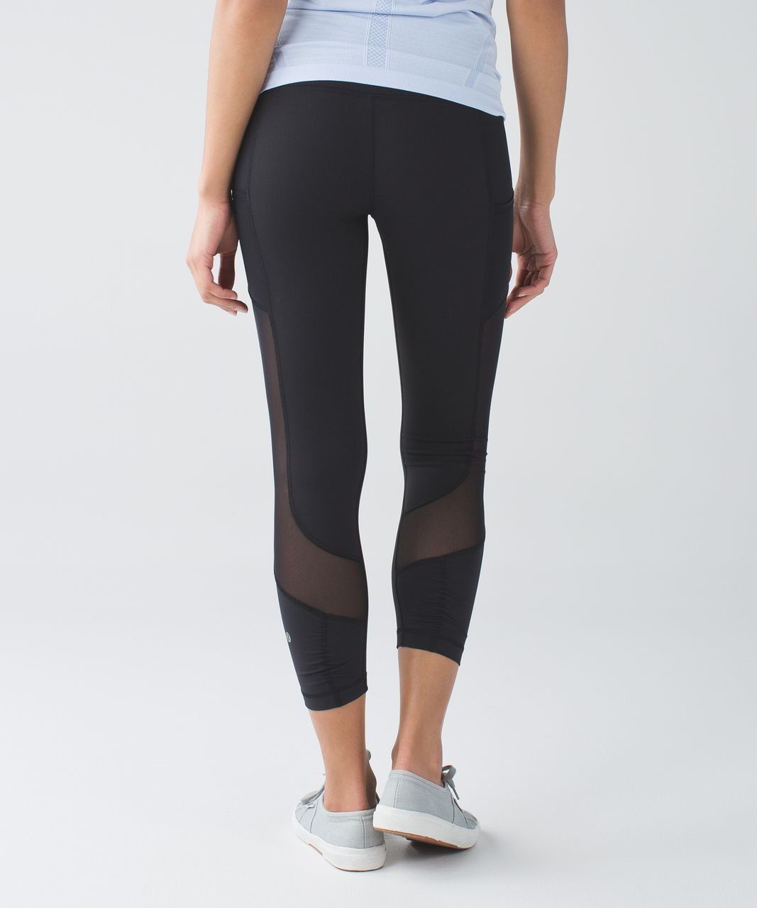 8d993fc66ec61 Lululemon Seek The Heat Crop - Black - lulu fanatics