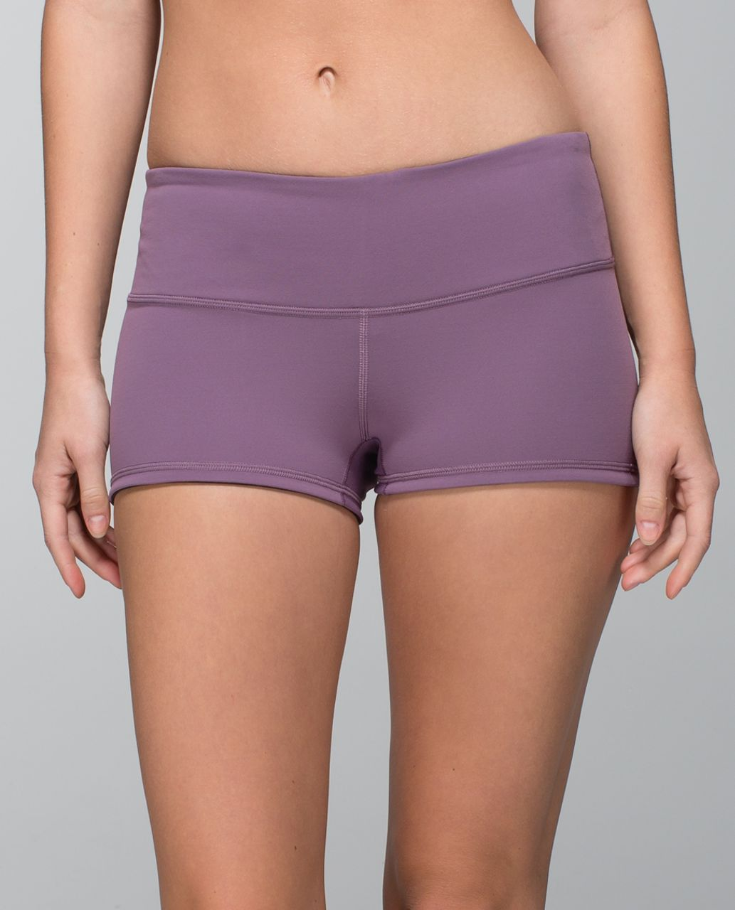 Lululemon Boogie Short - Purple Fog / Black