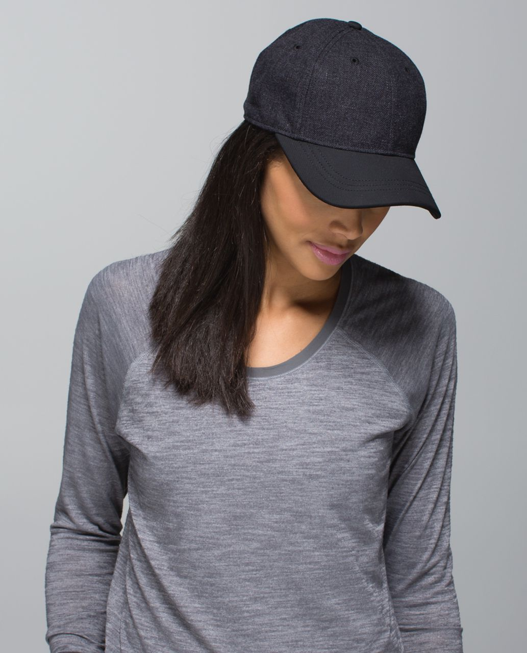 Lululemon Play The Field Cap *Wool - Heathered Black