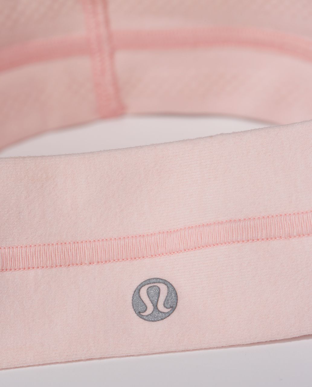 Lululemon Fly Away Tamer Headband - Heathered Parfait Pink
