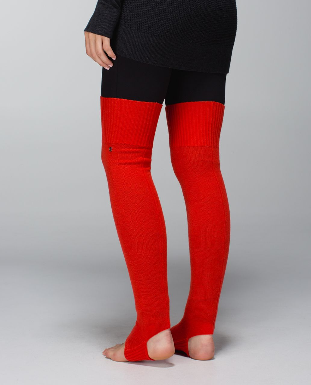 Lululemon Evolution Leg Warmers - Flaming Tomato