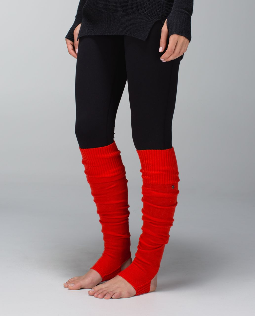 Lululemon Evolution Leg Warmers - Flaming Tomato
