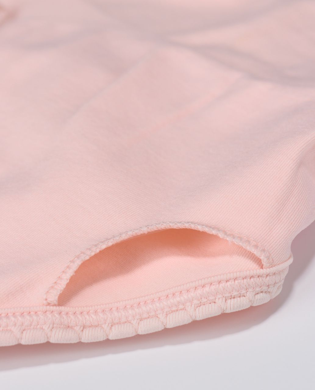 Lululemon Ebb To Street Bra - Heathered Parfait Pink