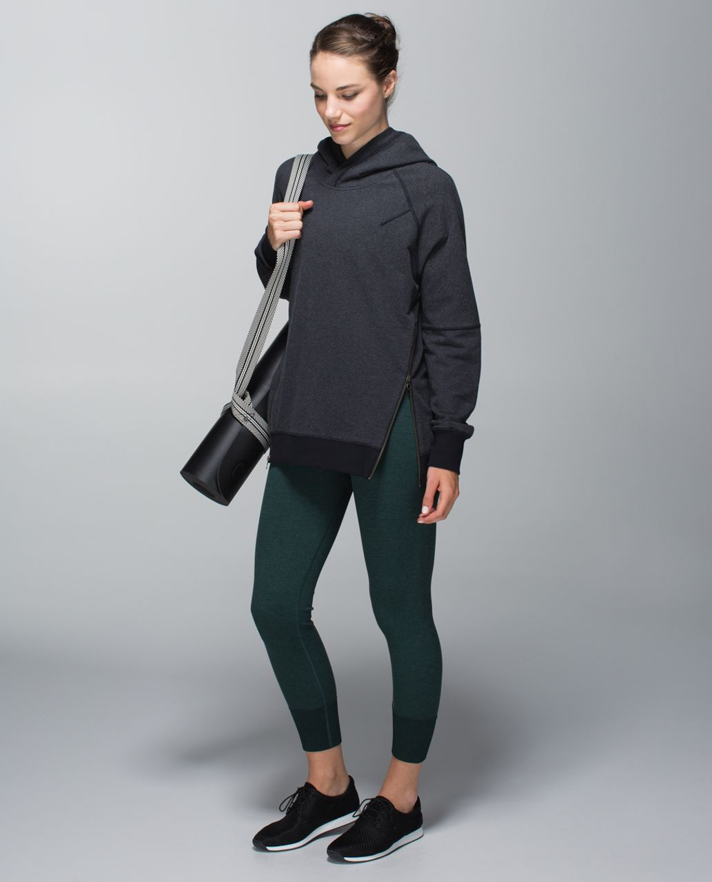 Lululemon Ebb To Street Pant - Heathered Fuel Green