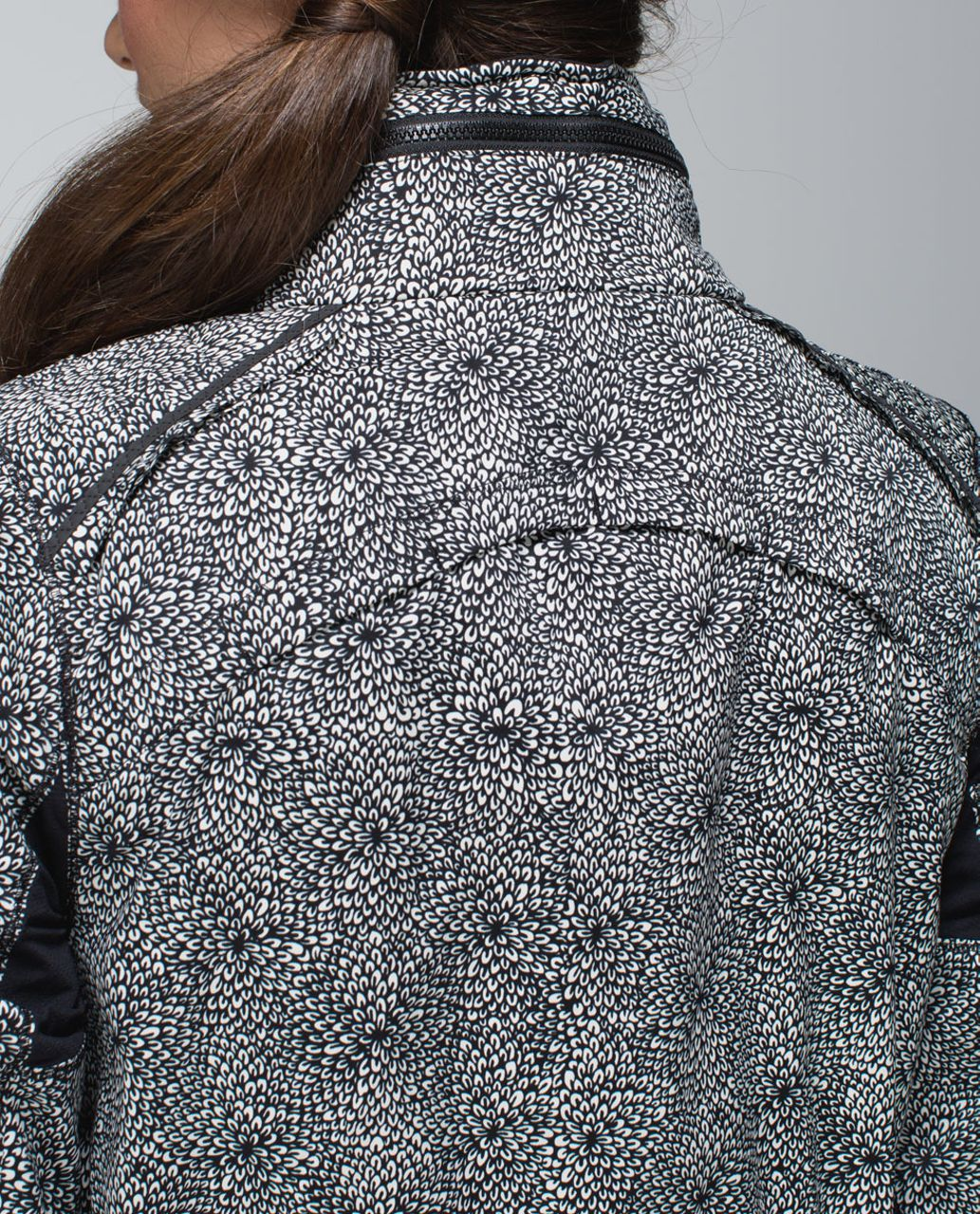 Lululemon Spring Forward Jacket - Plush Petal Black Ghost / Black