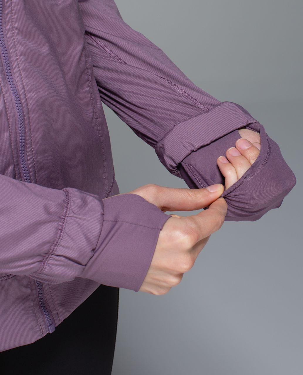 Lululemon Spring Forward Jacket - Purple Fog