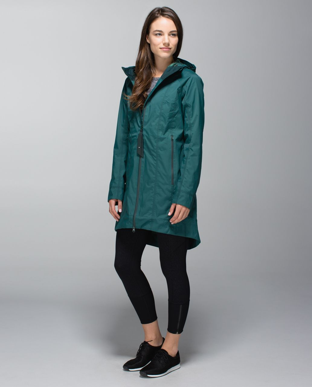 Lululemon Right As Rain Jacket - Fuel Green