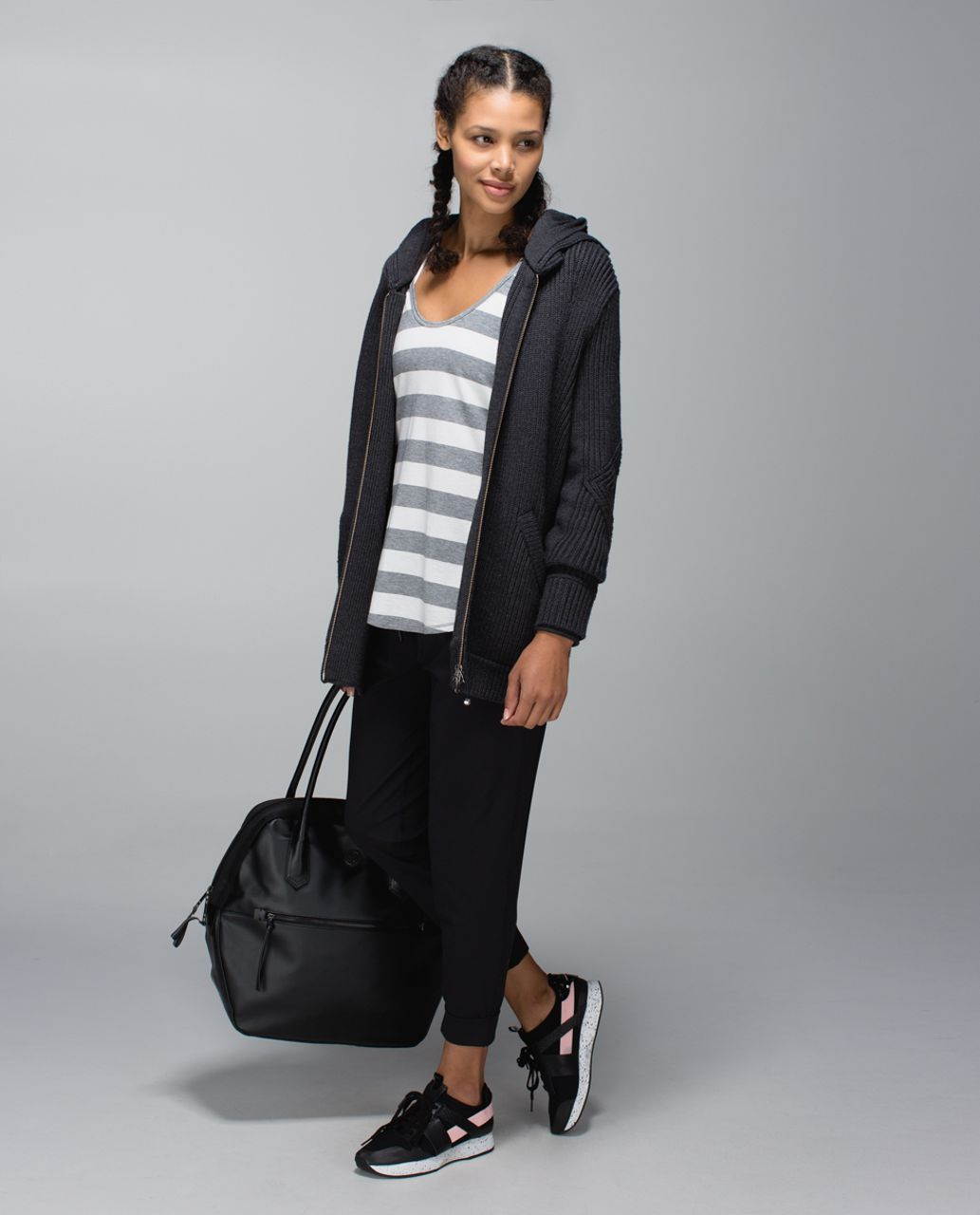 Lululemon Sweat-Er Once A Day Jacket - Heathered Black
