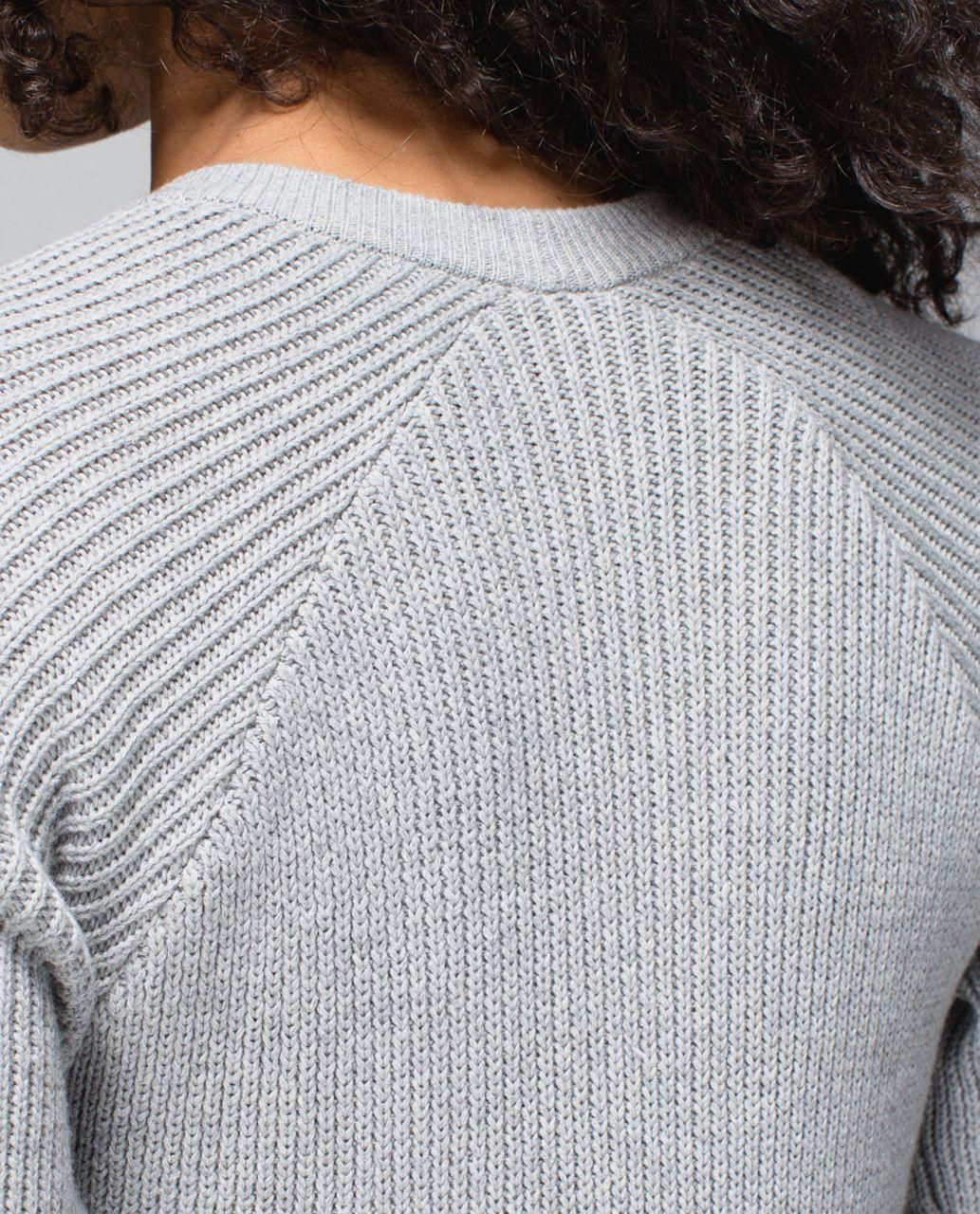 Lululemon The Sweater The Better - Heathered Medium Grey