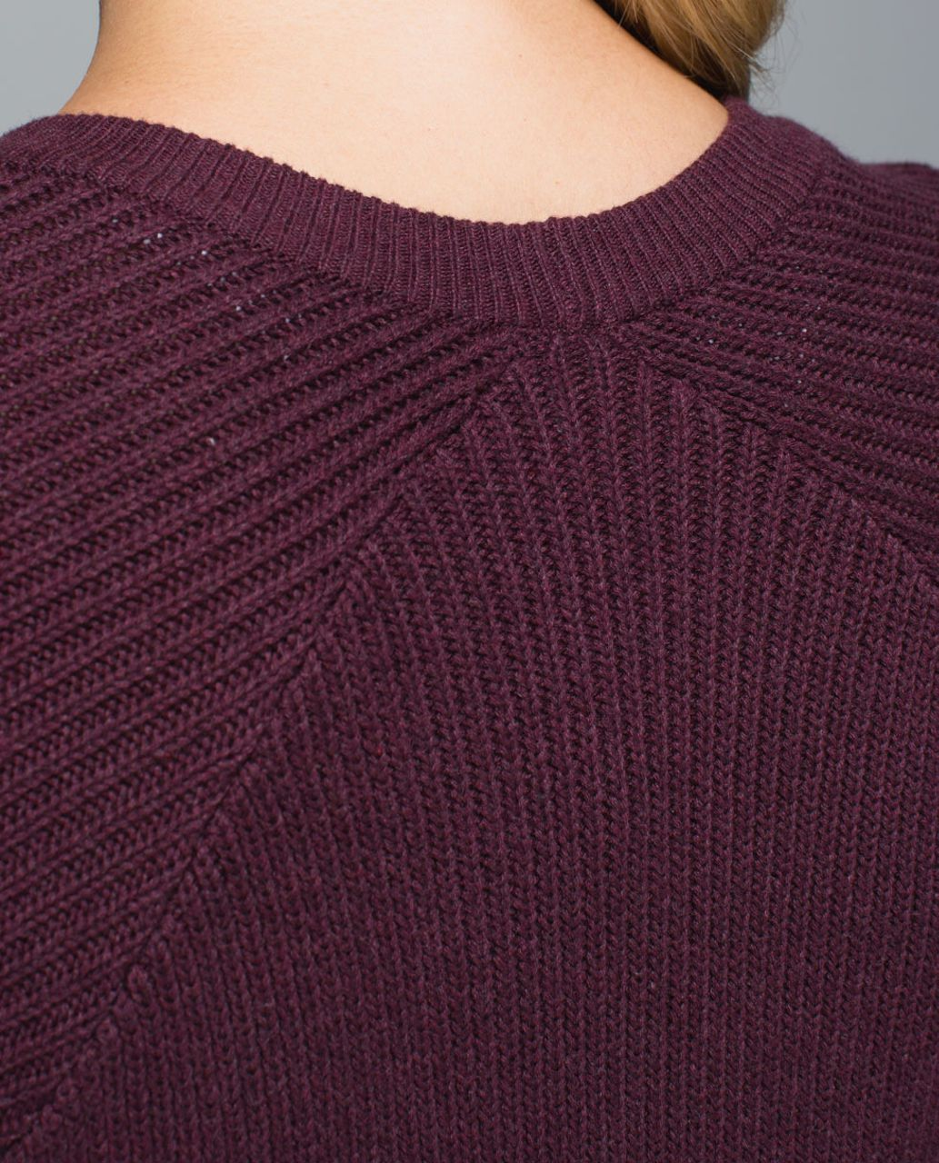 Lululemon The Sweater The Better - Heathered Bordeaux Drama