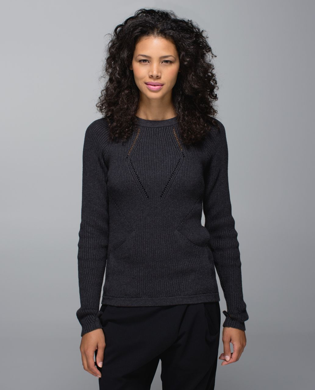 Lululemon The Sweater The Better - Heathered Black