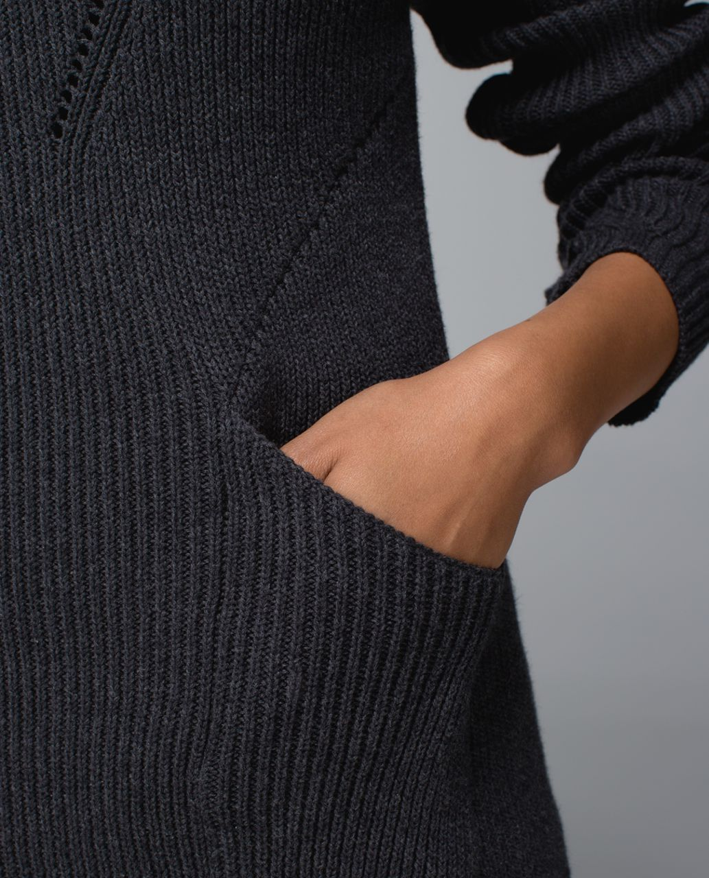 Lululemon The Sweater The Better - Heathered Black