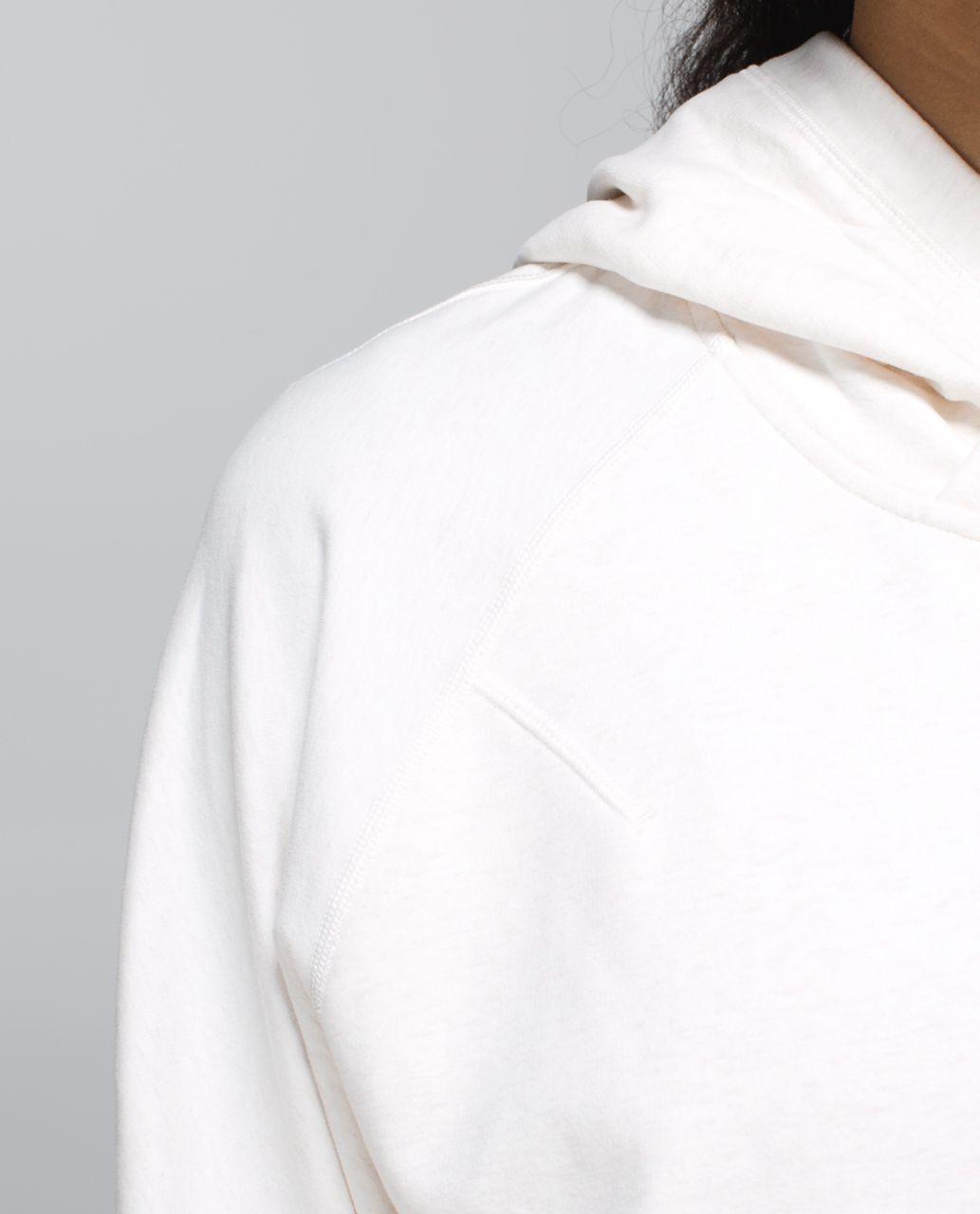 Lululemon Om & Roam Pullover - Heathered Angel White / Ghost / White