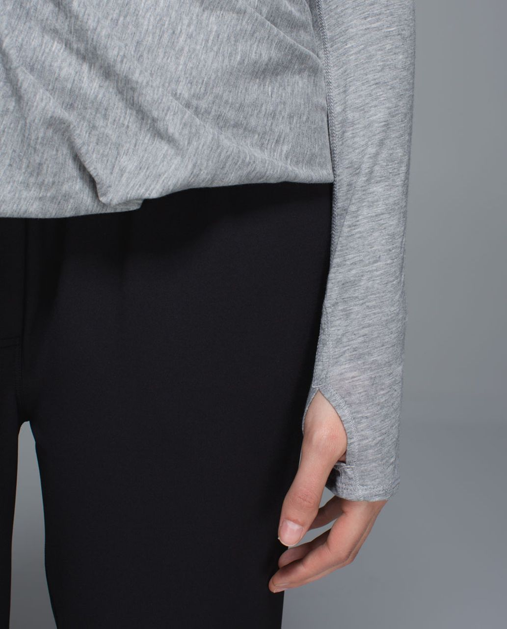 Lululemon Radiant Long Sleeve - Heathered Medium Grey (First Release)