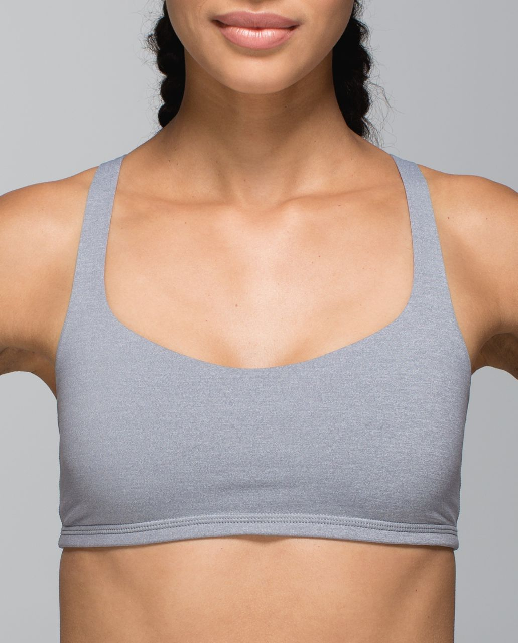 Lululemon Free To Be Bra - Heathered Slate