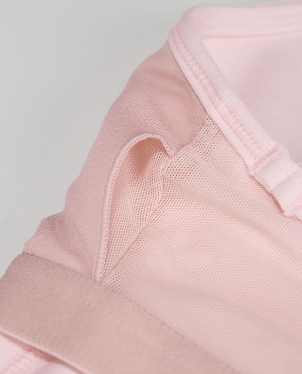 Lululemon Power Y Tank *Luon - Heathered Parfait Pink