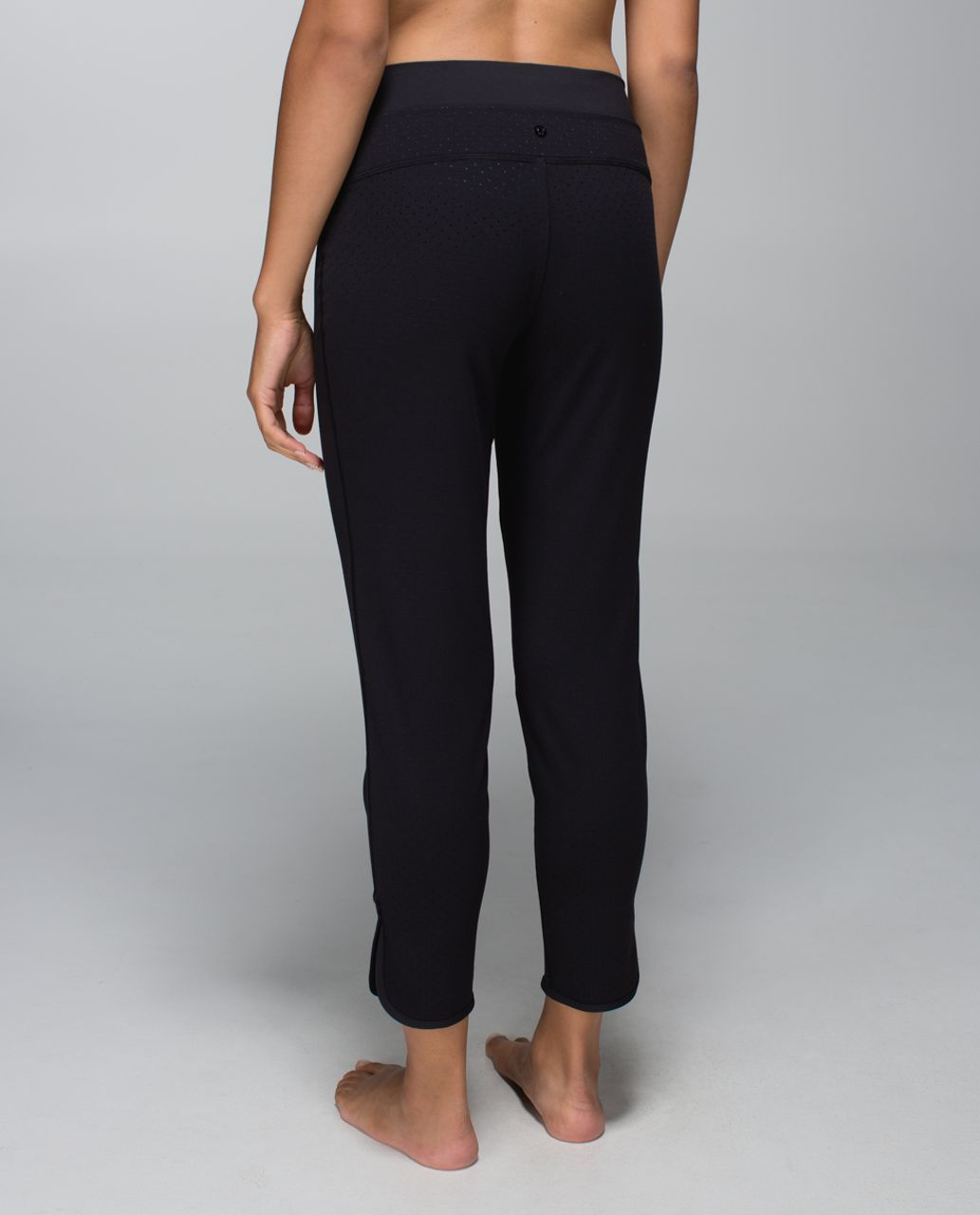 Lululemon Straight To Class Pant *Full-On-Luon - Shine Dot Black / Black