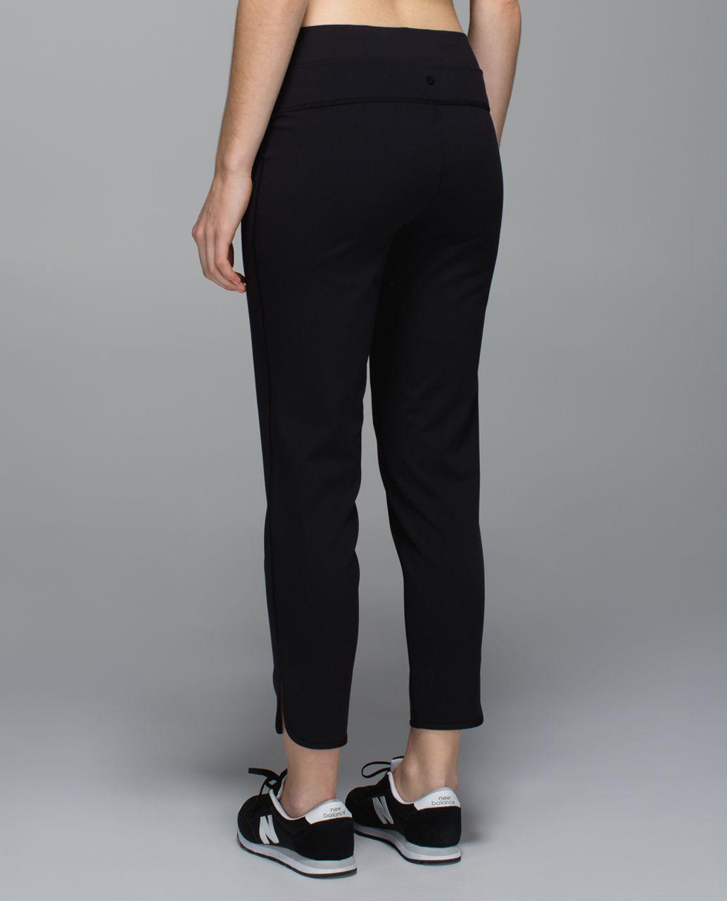 Lululemon Straight To Class Pant *Full-On-Luon - Black