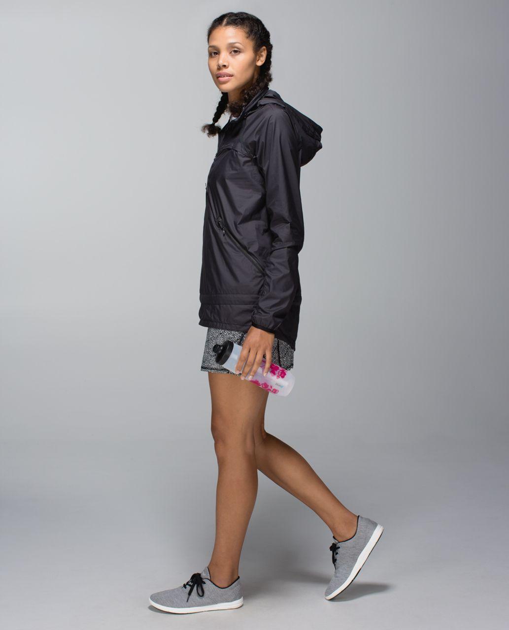 Lululemon Run:  Pace Setter Skirt *4-way Stretch (Regular) - Plush Petal Black Ghost / Black