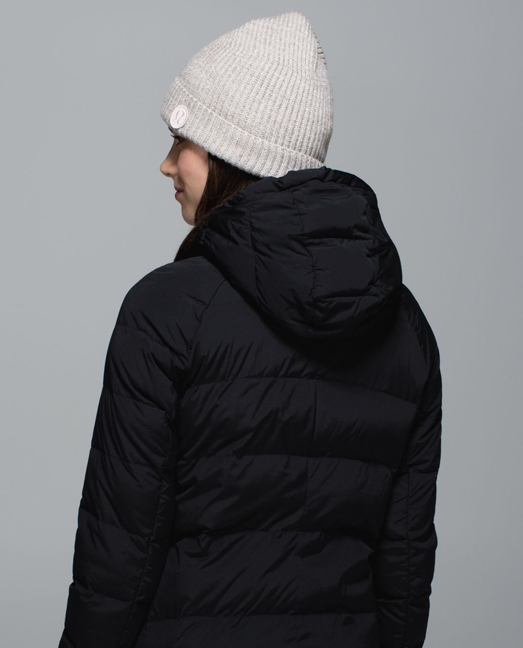 Lululemon Twisted Bliss Toque - Heathered Storm Grey / Ghost